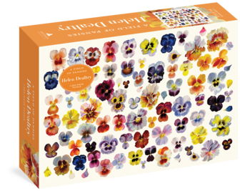 A Field of Pansies 1,000-Piece Puzzle - cover