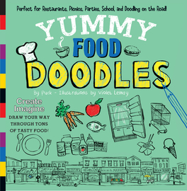 Yummy Food Doodles - cover