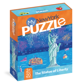 My New York 20-Piece Puzzle - cover