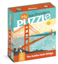 My San Francisco 20-Piece Puzzle - cover