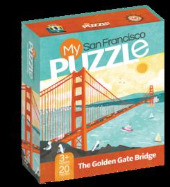 My San Francisco 20-Piece Puzzle - cover