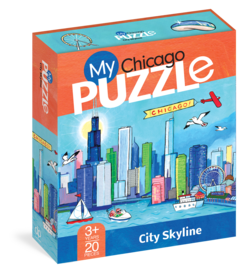 My Chicago 20-Piece Puzzle - cover