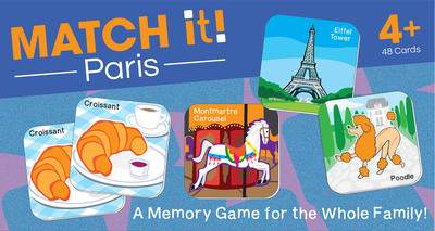 Match it! Paris - cover
