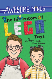 Awesome Minds: The Inventors of LEGO® Toys - cover