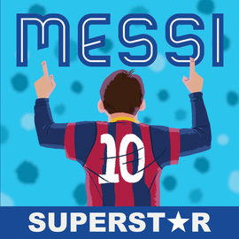 Messi, Superstar - cover