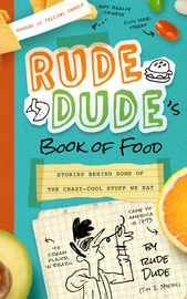Rude Dude's Book of Food - cover