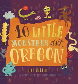 10 Little Monsters Visit Oregon - cover