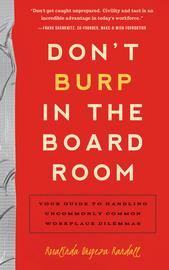 Don't Burp in the Boardroom - cover