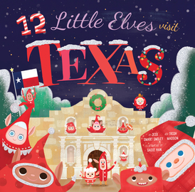 12 Little Elves Visit Texas - cover