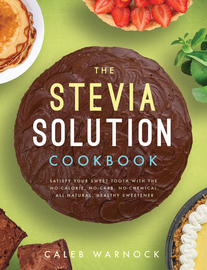 The Stevia Solution Cookbook - cover