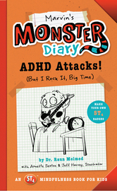 Marvin's Monster Diary - cover