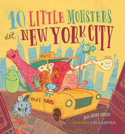10 Little Monsters Visit New York City - cover