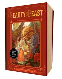 Beauty and the Beast Book and Puzzle Box Set - cover