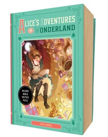 Alice's Adventures in Wonderland Book and Puzzle Box Set - cover