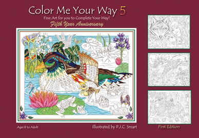 Color Me Your Way 5 - cover