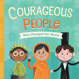 Courageous People Who Changed the World - cover