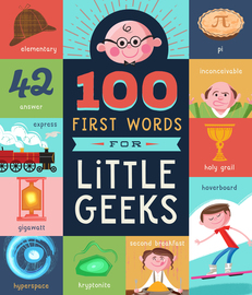 100 First Words for Little Geeks - cover