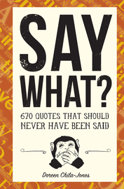 Say What? - cover