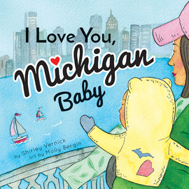 I Love You, Michigan Baby - cover