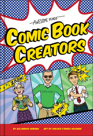 Awesome Minds: Comic Book Creators - cover
