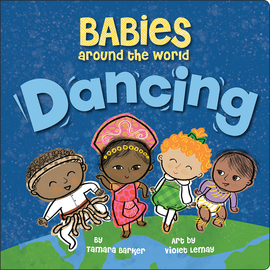 Babies Around the World: Dancing - cover