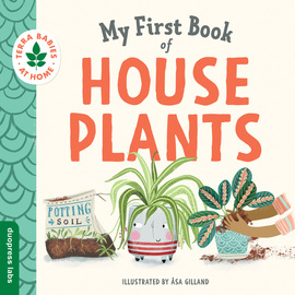 My First Book of Houseplants - cover