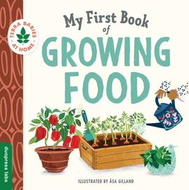 My First Book of Growing Food - cover