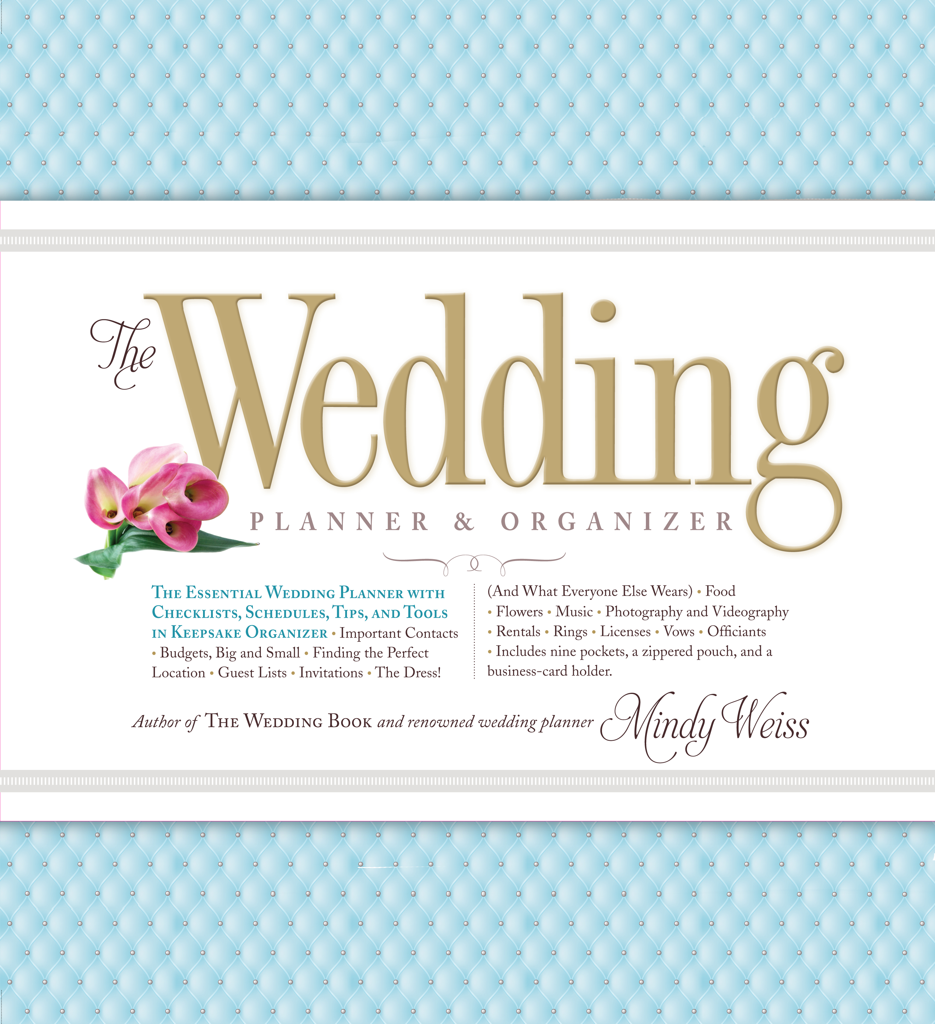 The Wedding Planner Organizer Workman Publishing