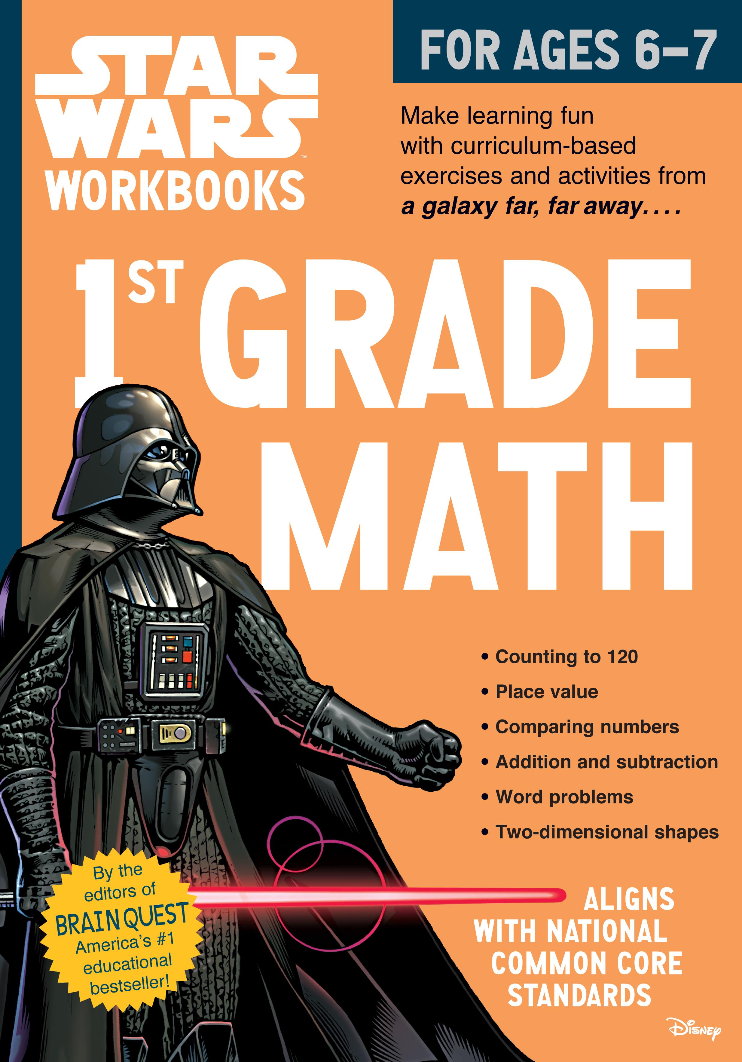 Worksheet 1st Grade Math Workbooks star wars workbook 1st grade math workman publishing download high res image