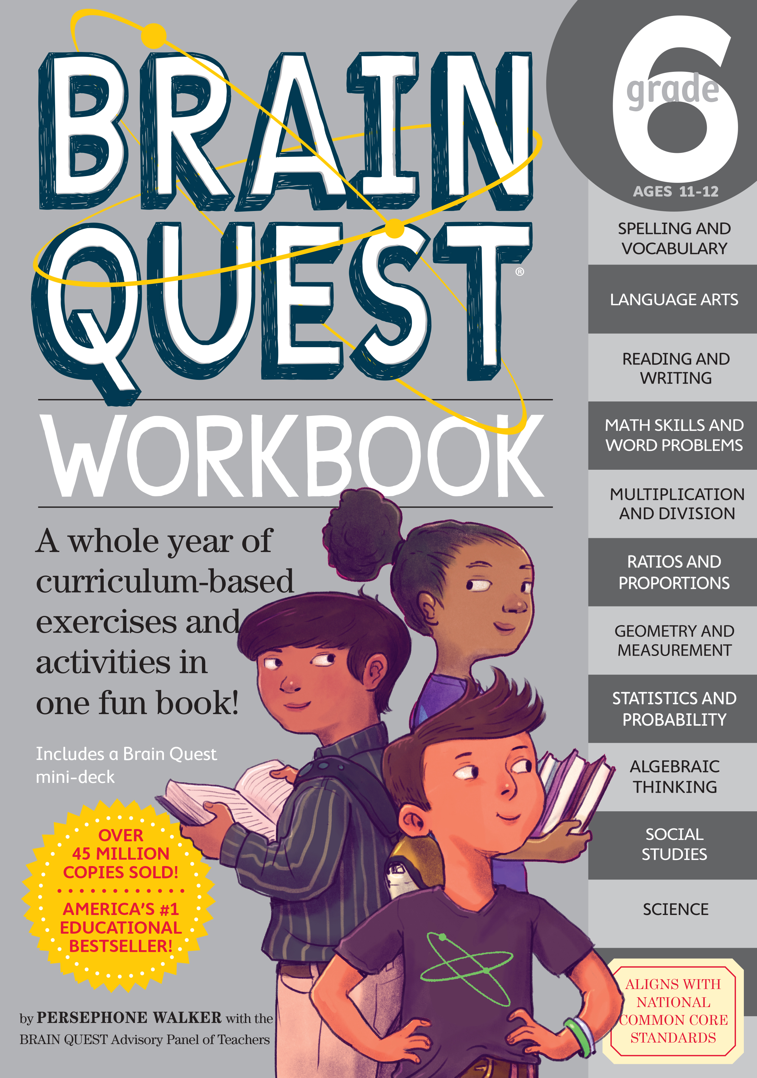 Fashion Book Cover Quest ~ Brain quest workbook grade workman publishing