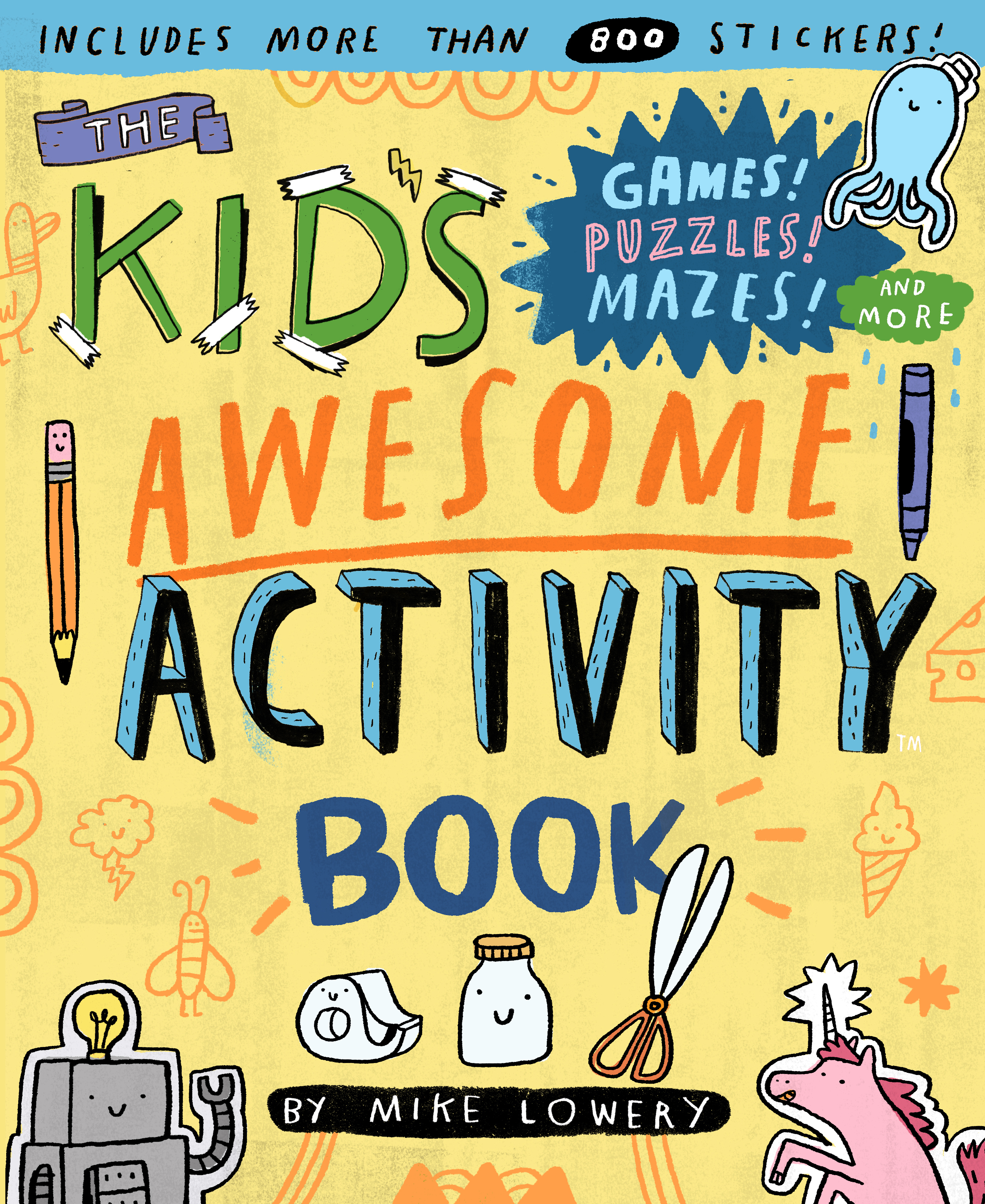 Kids Calendar With Activity Stickers : The kid s awesome activity book workman publishing