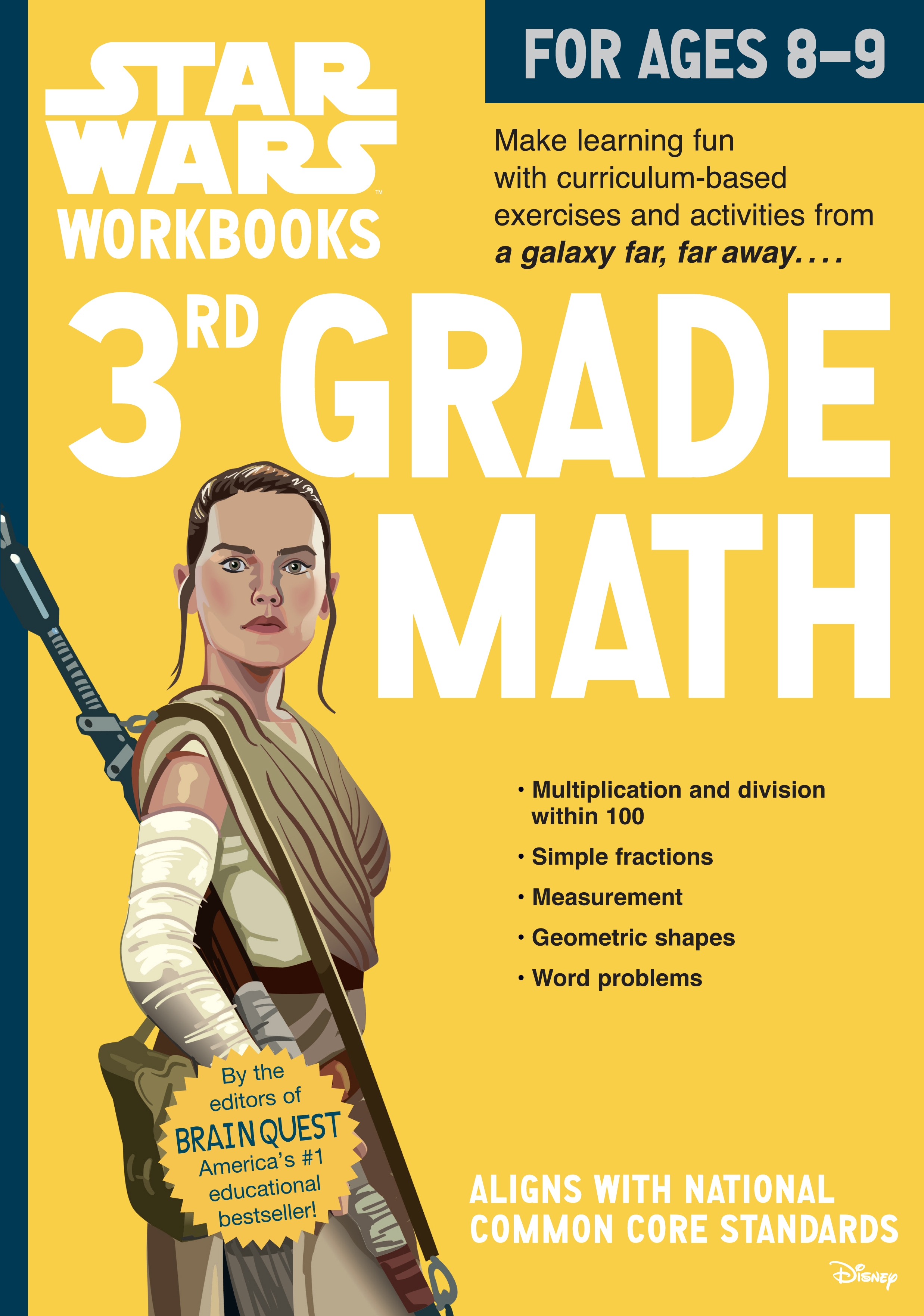 Star Wars Workbook: 3rd Grade Math - Workman Publishing