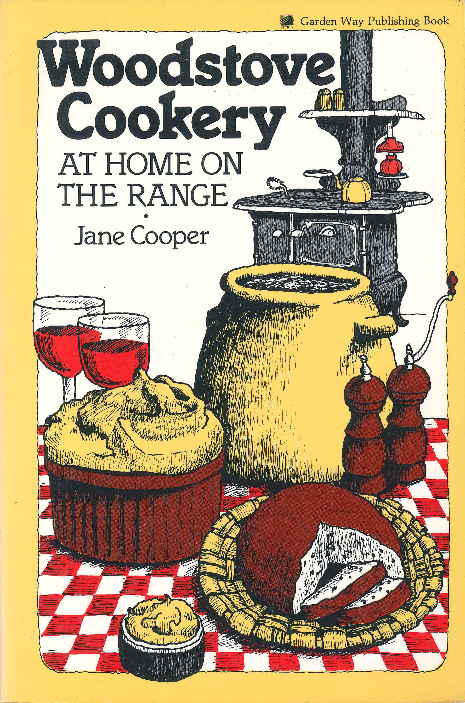 Woodstove Cookery At Home on the Range - Jane Cooper