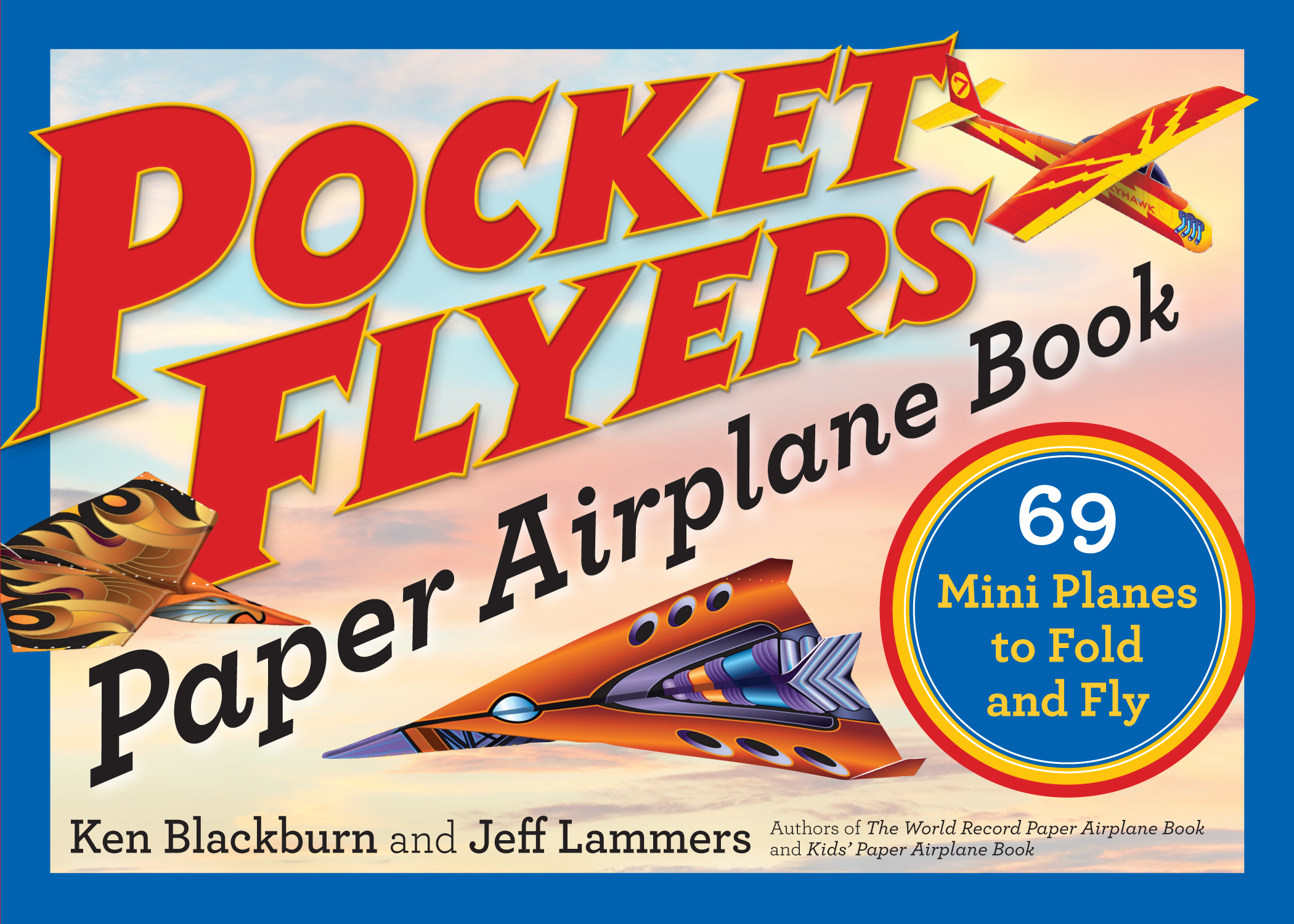 pocket flyers paper airplane book workman publishing