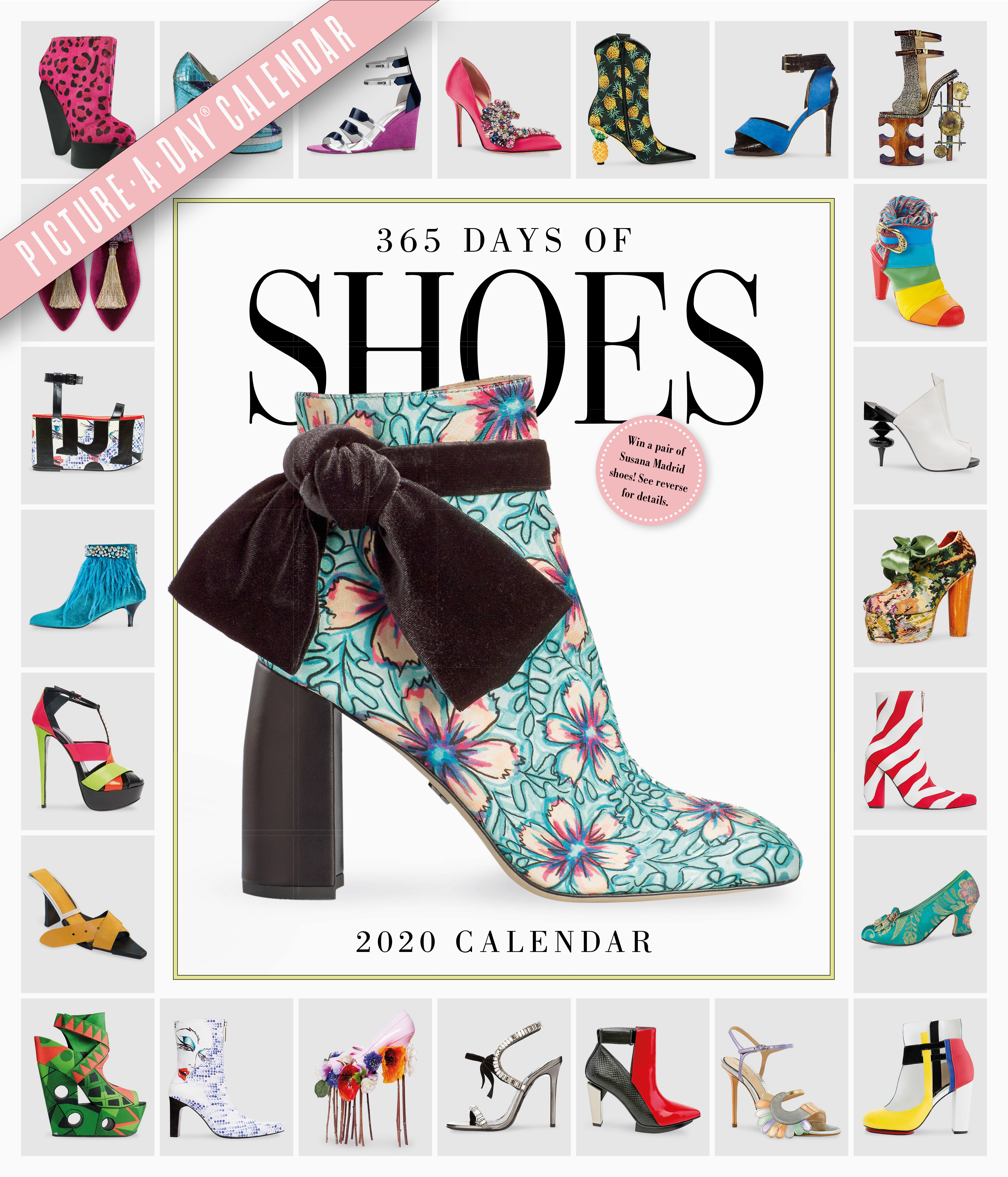 Shoe Calendar 2020 365 Days of Shoes Picture A Day Wall Calendar 2020   Workman