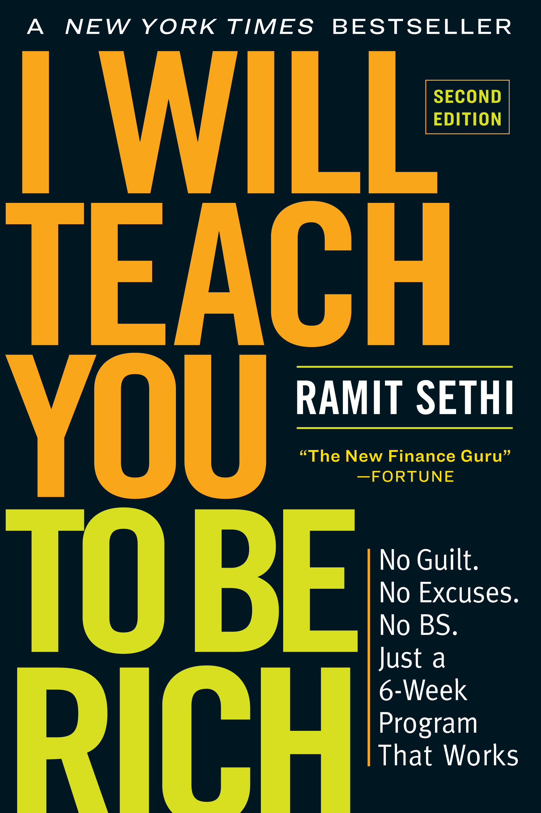 I Will Teach You To Be Rich - book cover