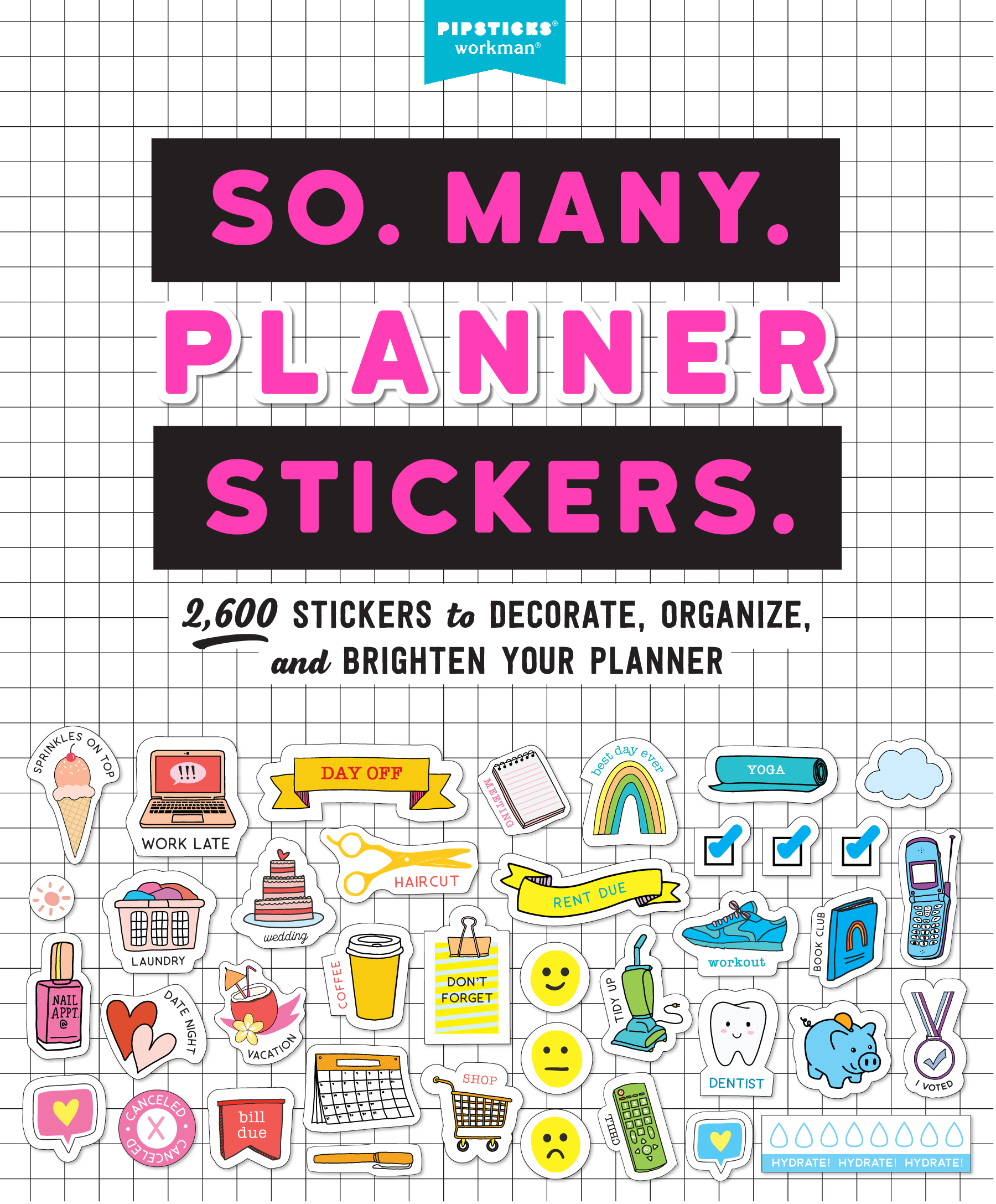 So  Many  Planner Stickers  - Workman Publishing