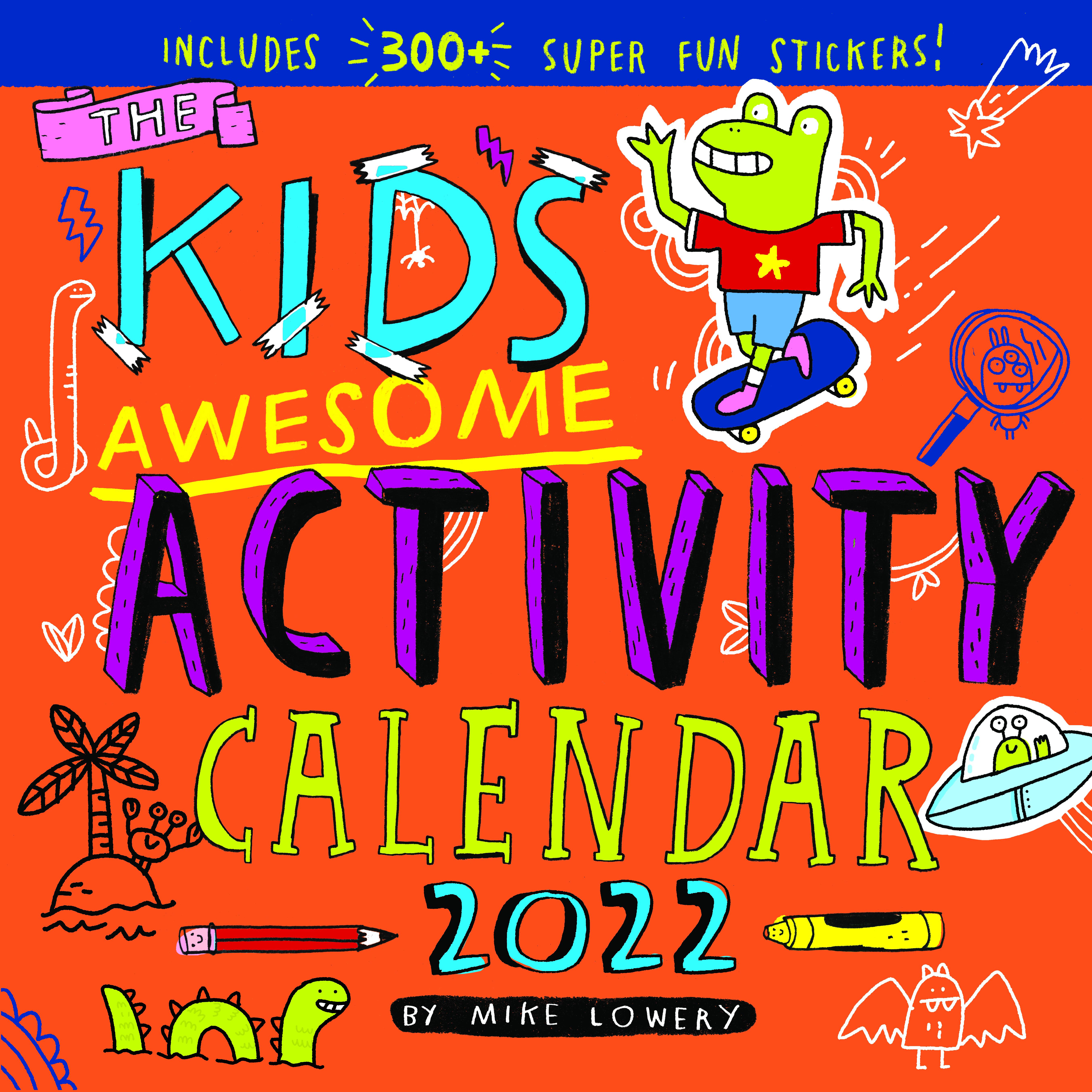 Kids Calendar 2022.Kid S Awesome Activity Wall Calendar 2022 Workman Publishing