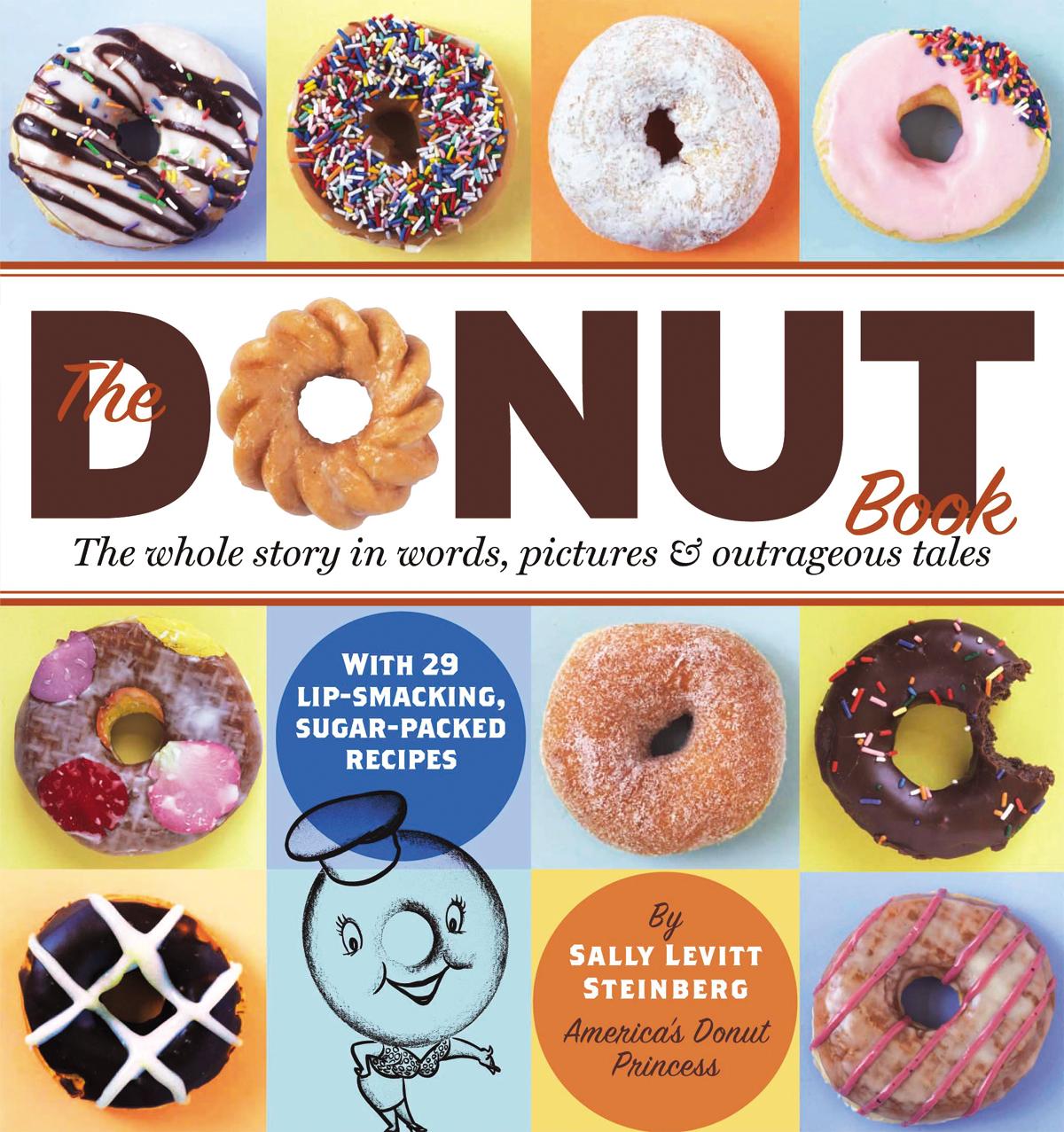 The Donut Book  - Sally Levitt Steinberg