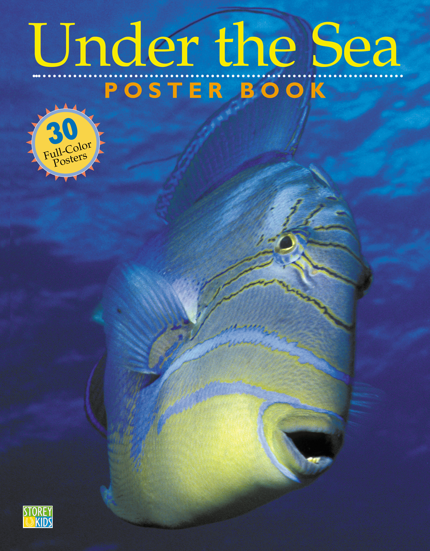 Under the Sea Poster Book  - Editors of Storey Publishing