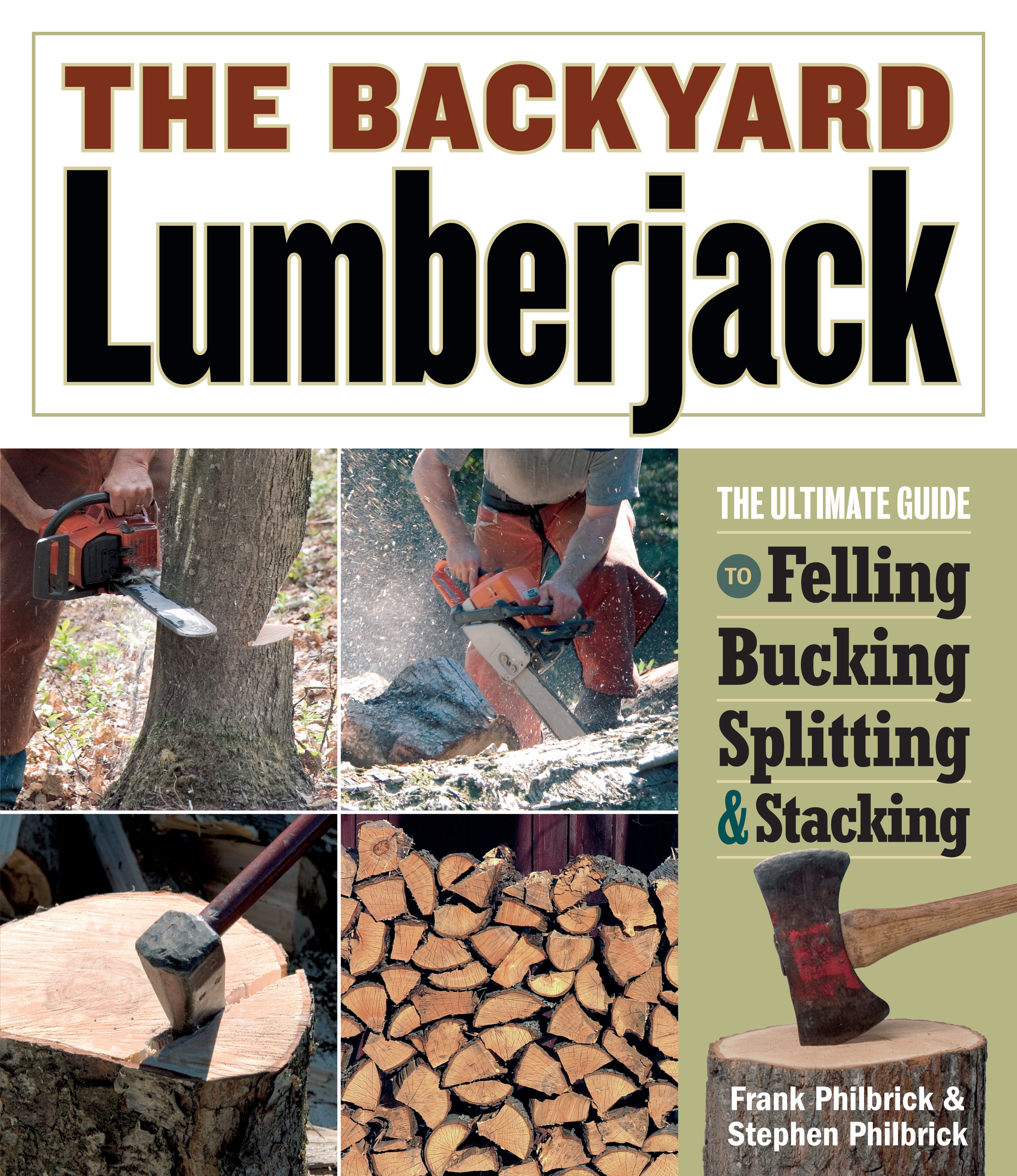 The Backyard Lumberjack  - Frank Philbrick
