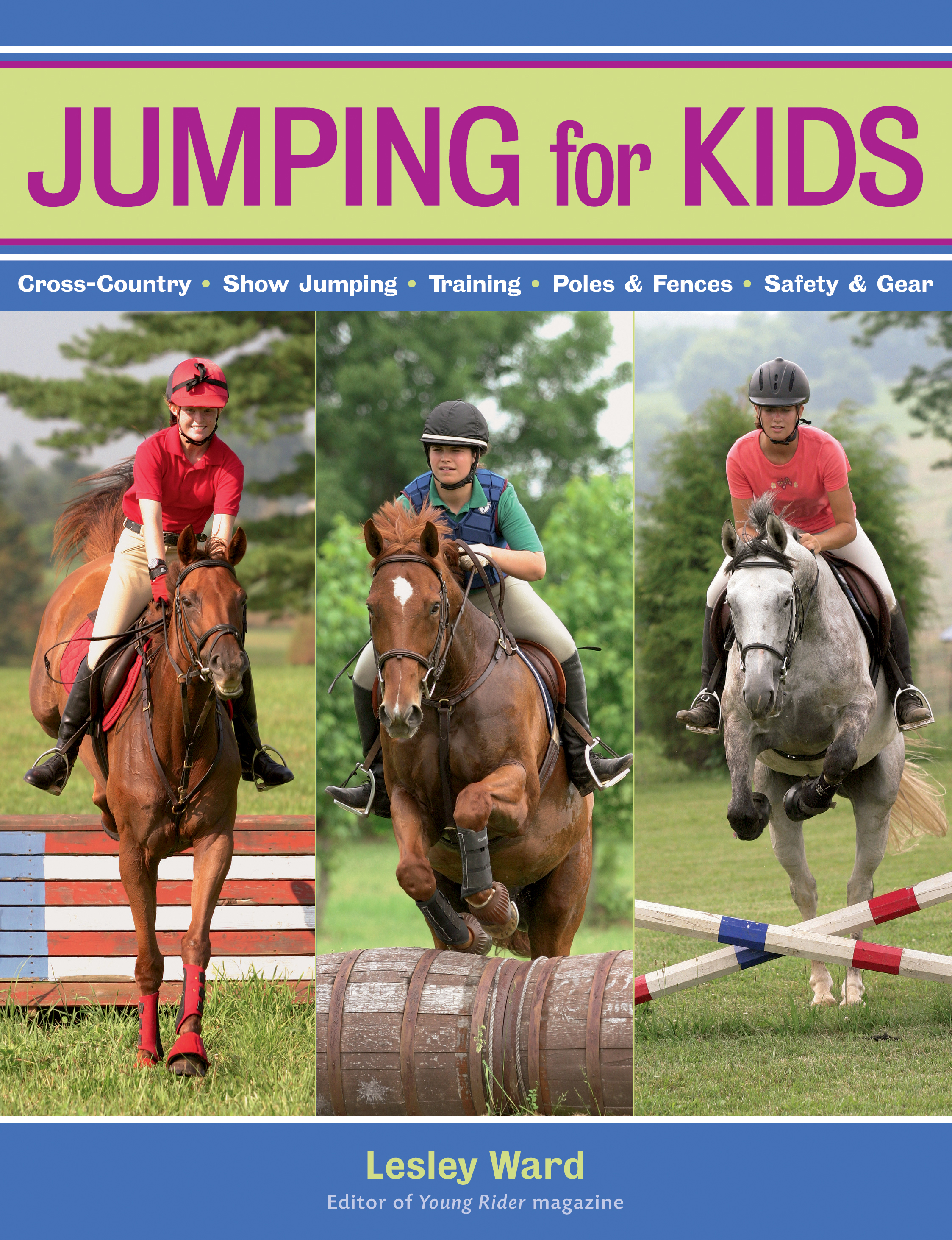 Jumping for Kids  - Lesley Ward