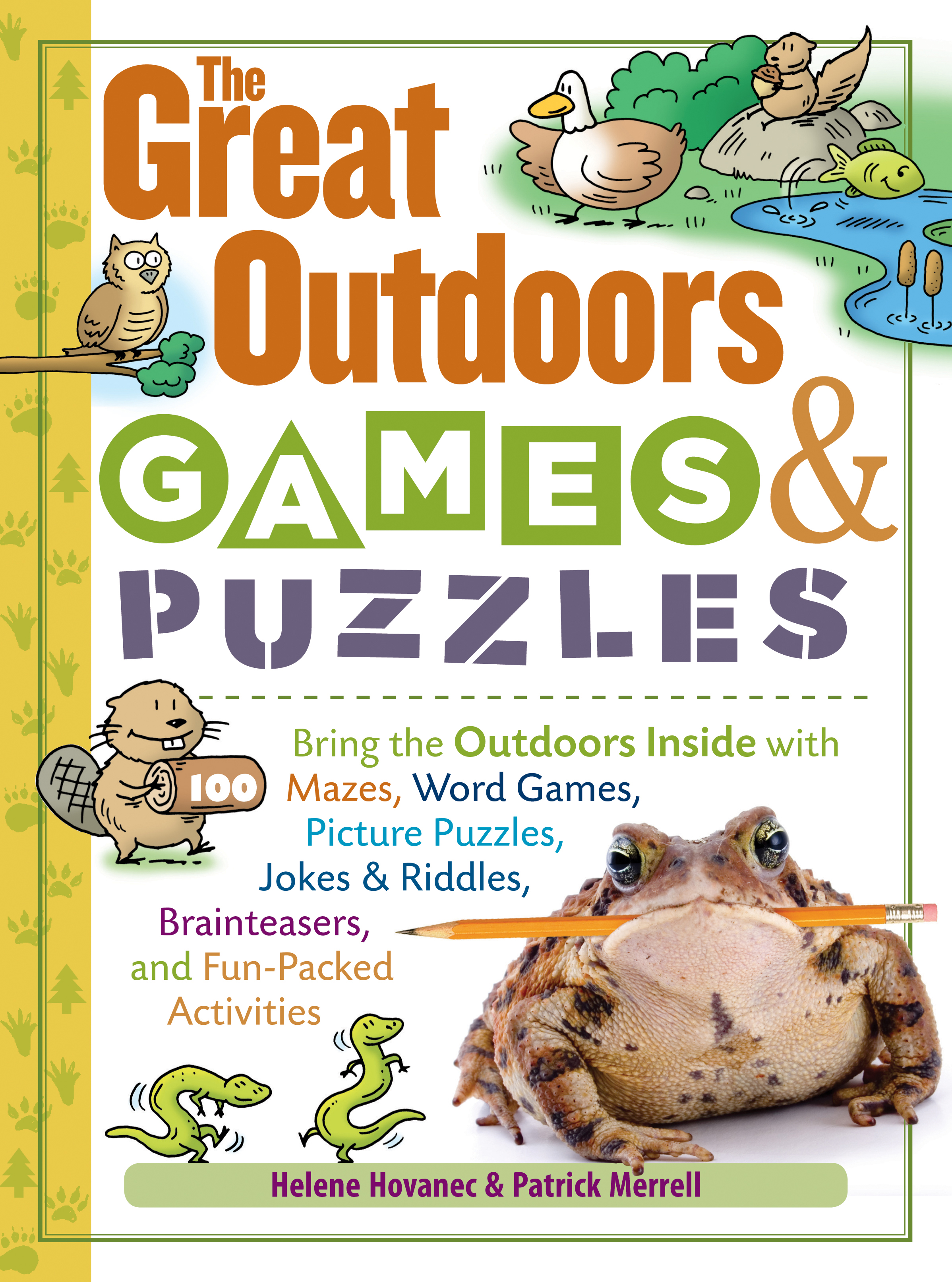 The Great Outdoors Games & Puzzles  - Helene Hovanec