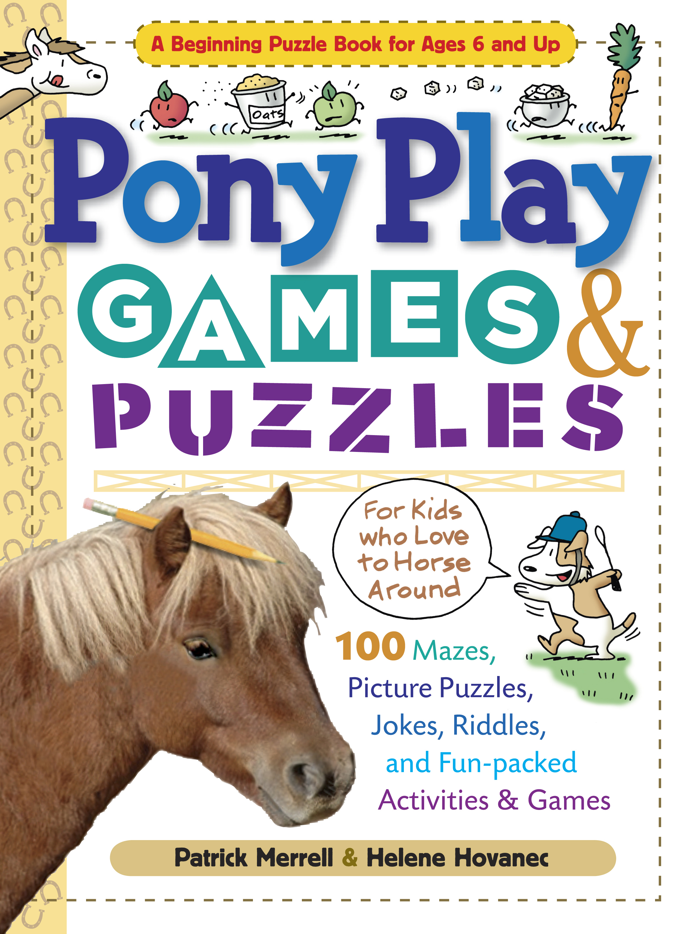 Pony Play Games & Puzzles  - Helene Hovanec