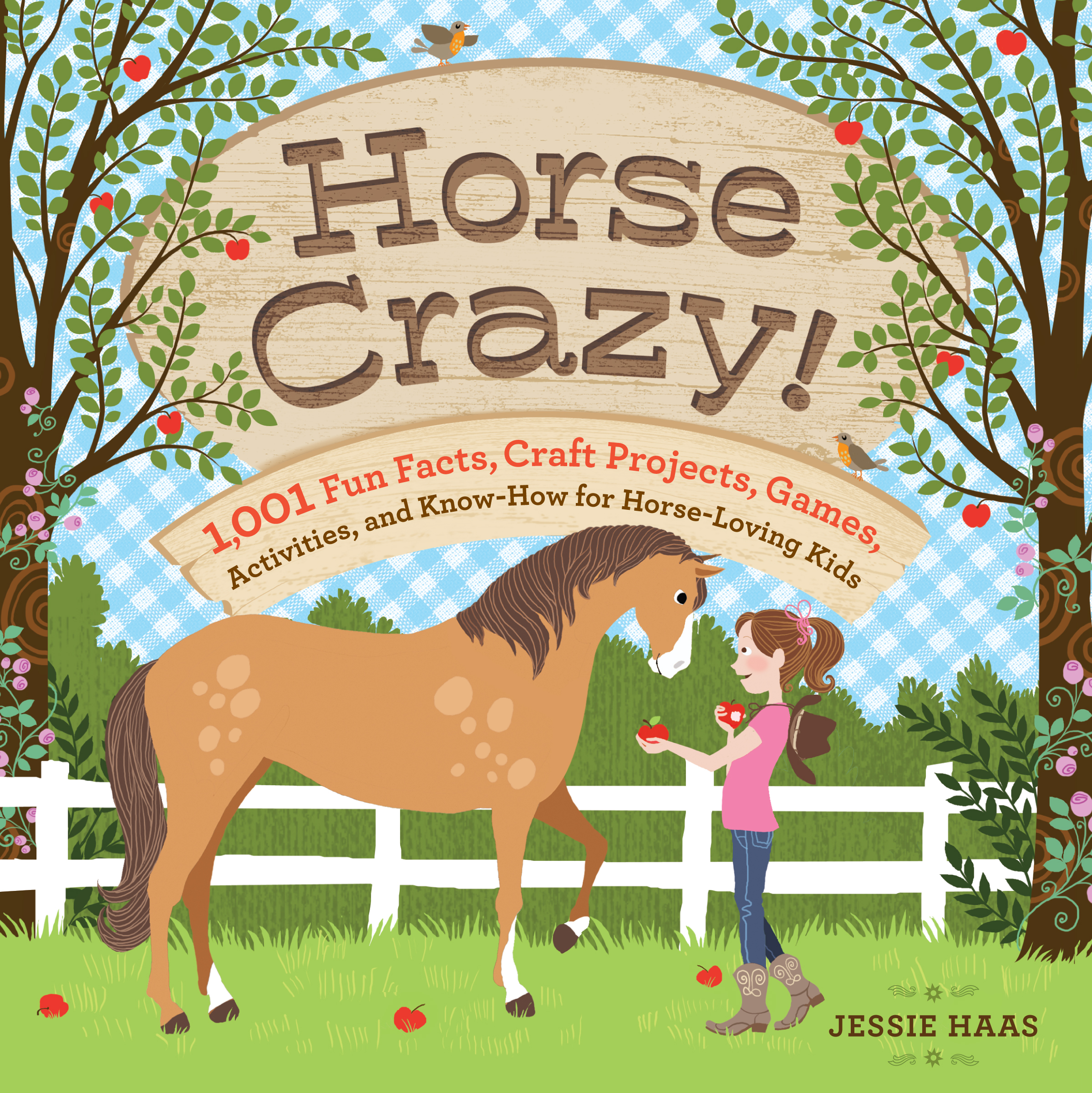 Horse Crazy! Fun Facts, Ideas, Activities, Projects, Games, and Know-How for Horse-Loving Kids - Jessie Haas