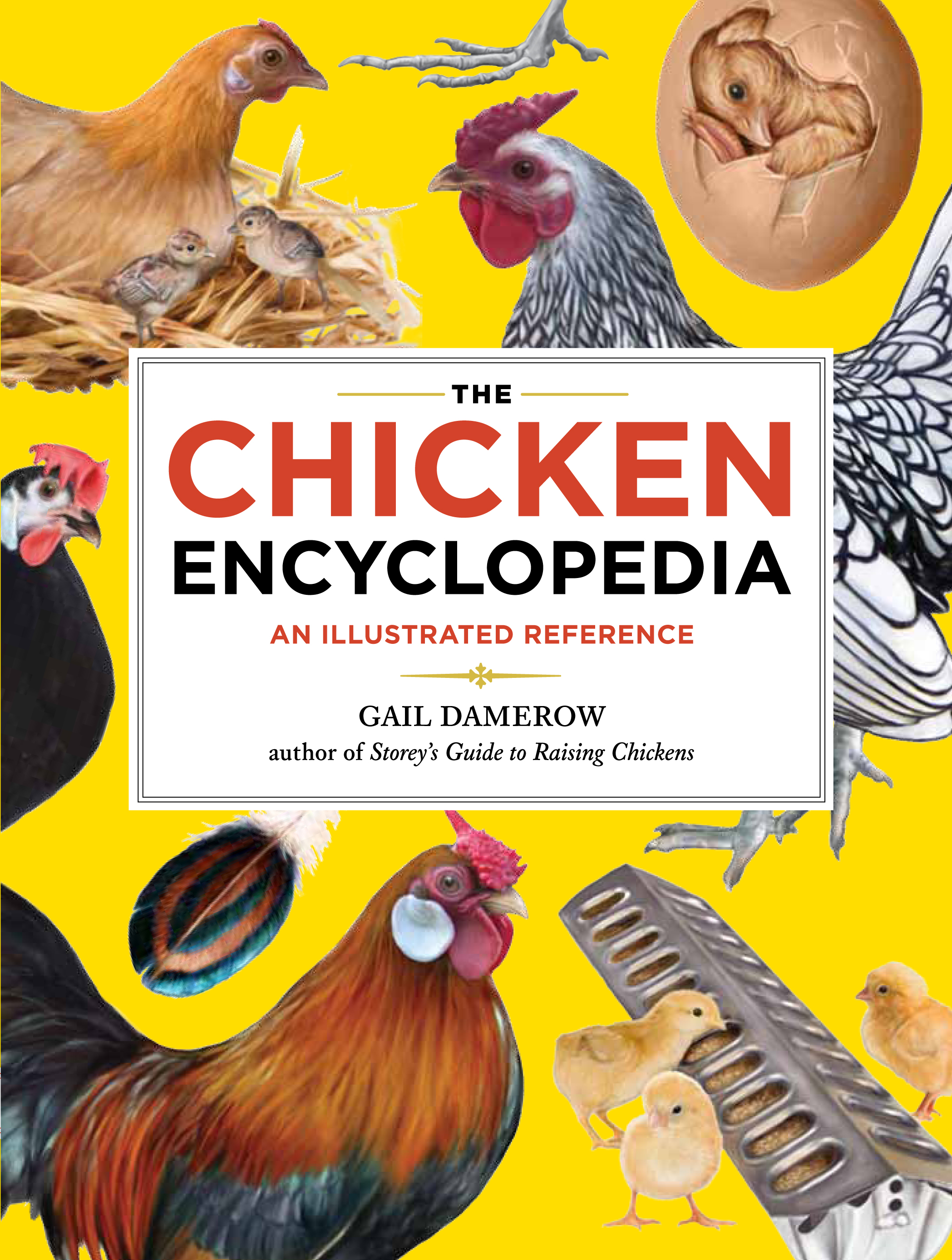 The Chicken Encyclopedia An Illustrated Reference - Gail Damerow