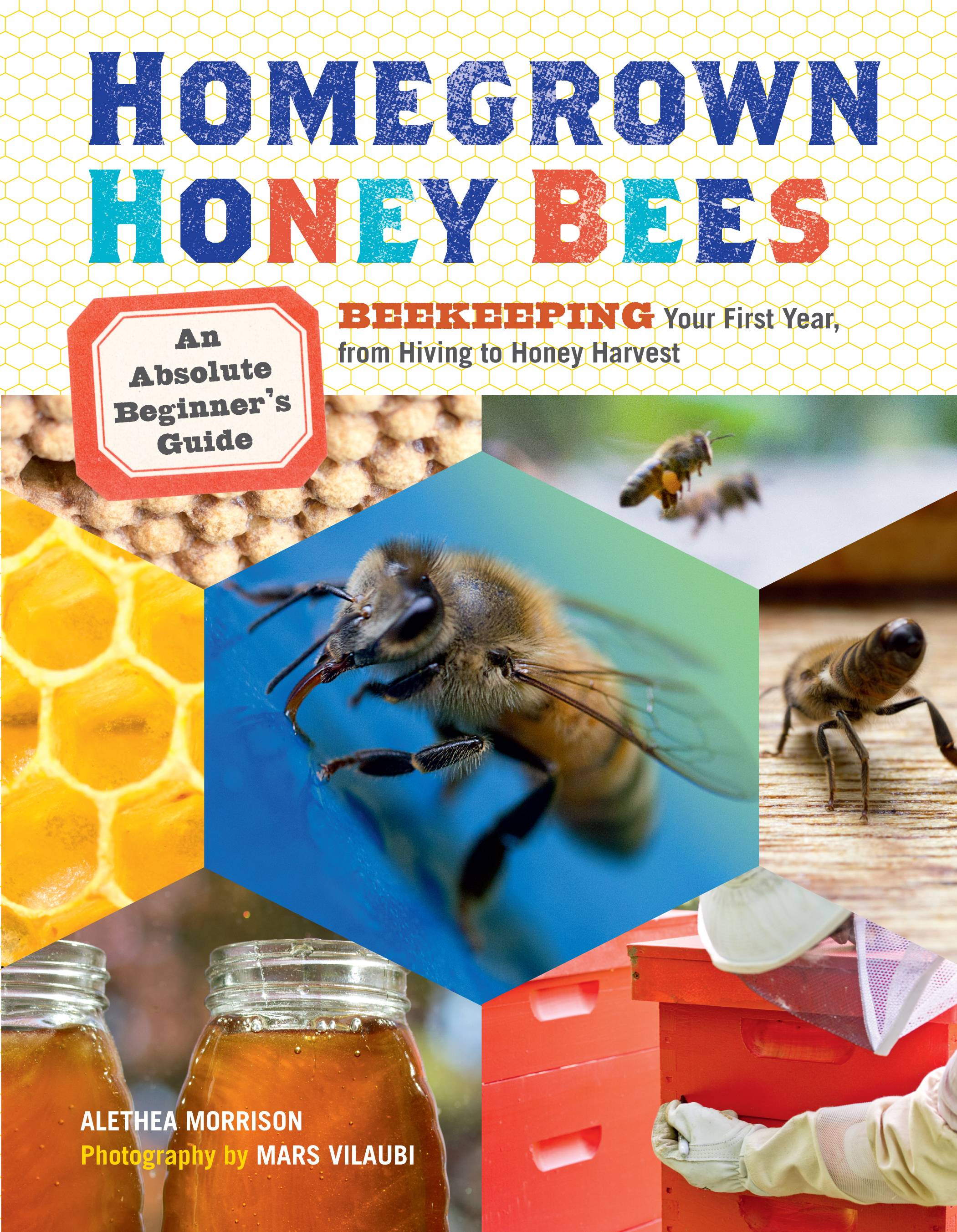 Homegrown Honey Bees An Absolute Beginner's Guide to Beekeeping Your First Year, from Hiving to Honey Harvest - Alethea Morrison