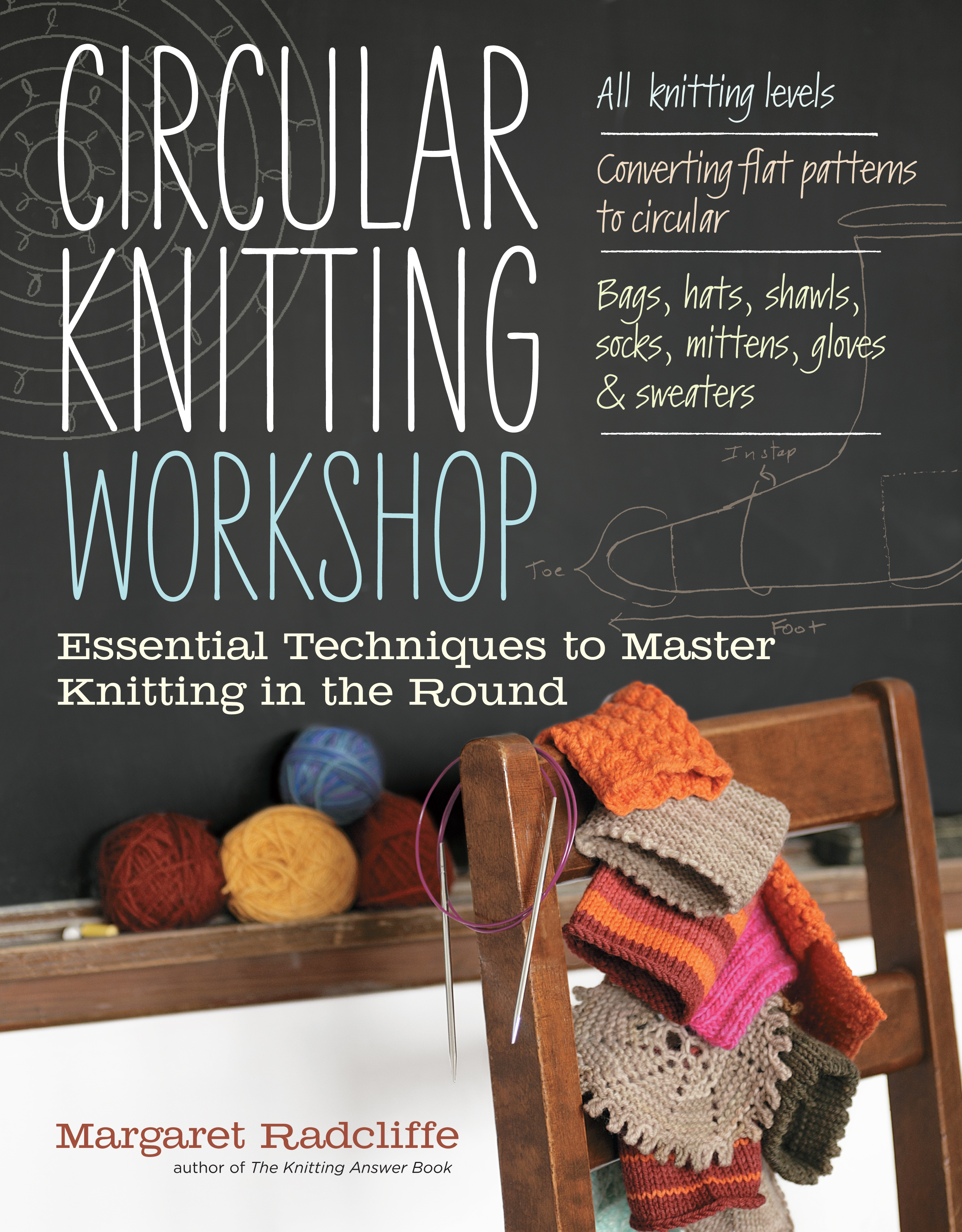 Circular Knitting Workshop Essential Techniques to Master Knitting in the Round - Margaret Radcliffe