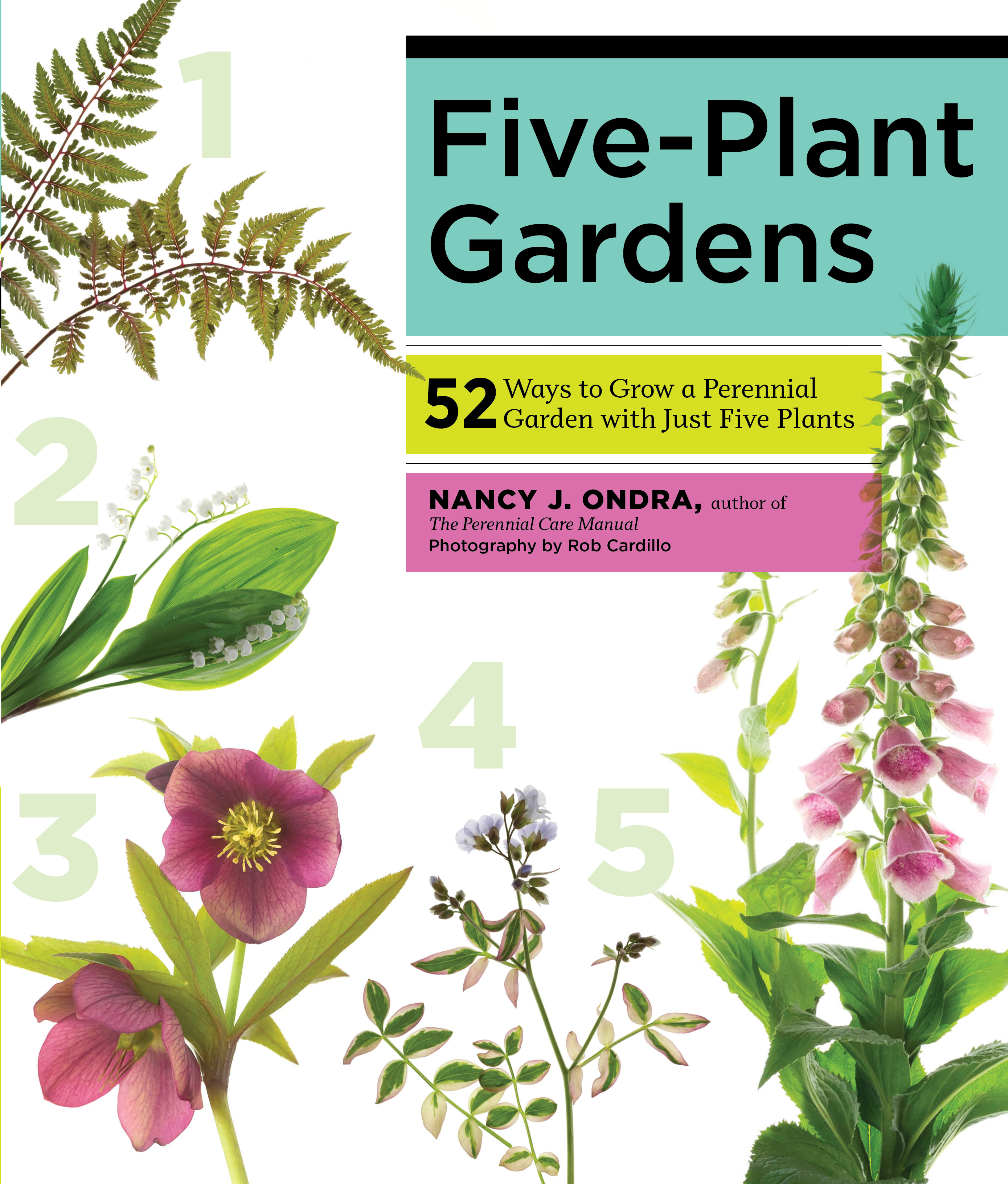 Five-Plant Gardens 52 Ways to Grow a Perennial Garden with Just Five Plants - Nancy J. Ondra