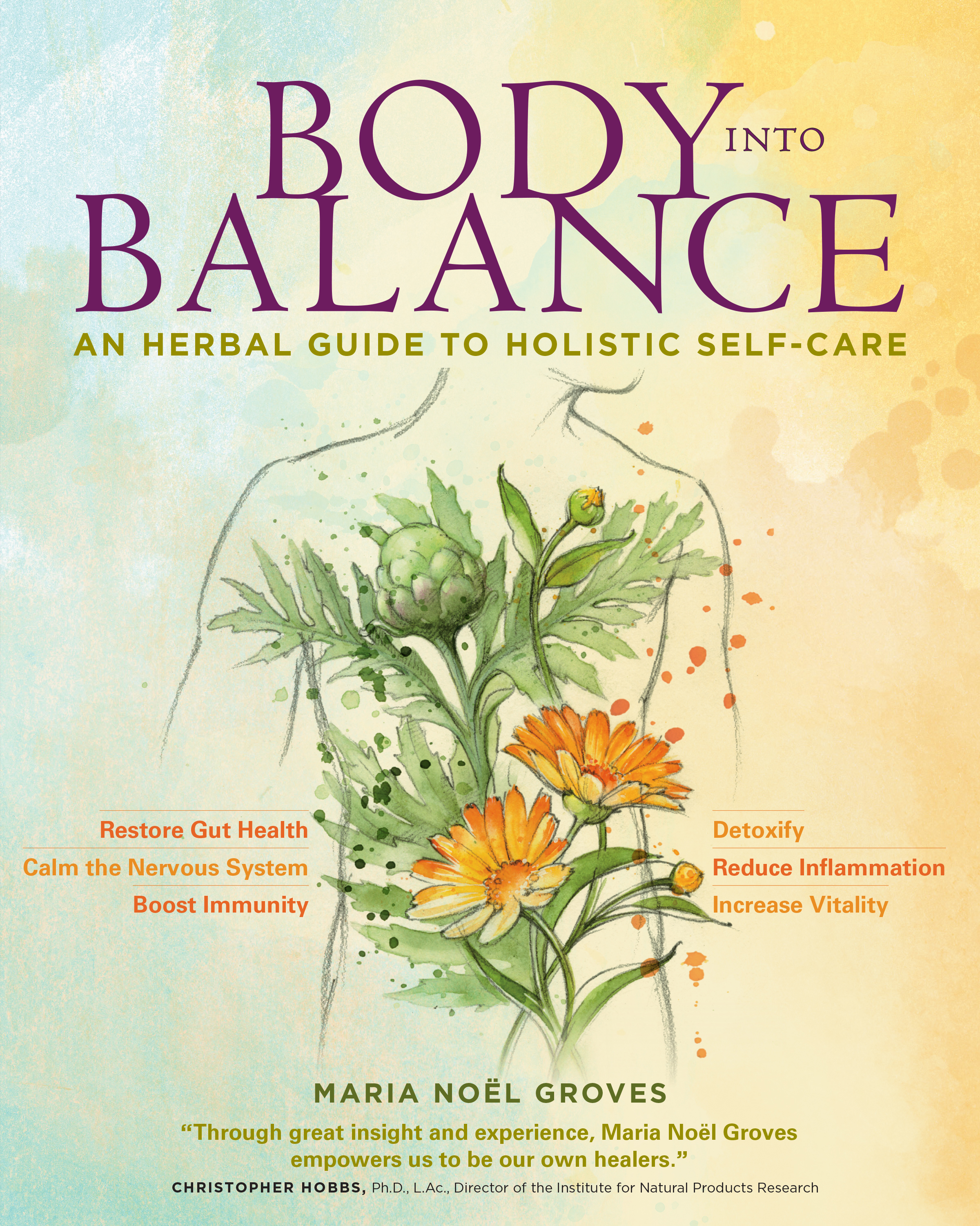 Body into Balance An Herbal Guide to Holistic Self-Care - Maria Noël Groves